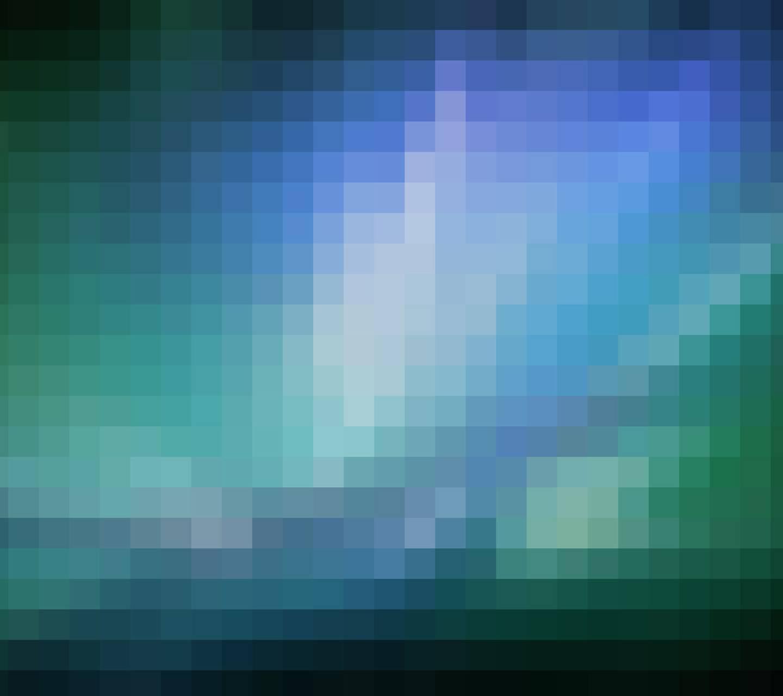 Mac Pixels Blue