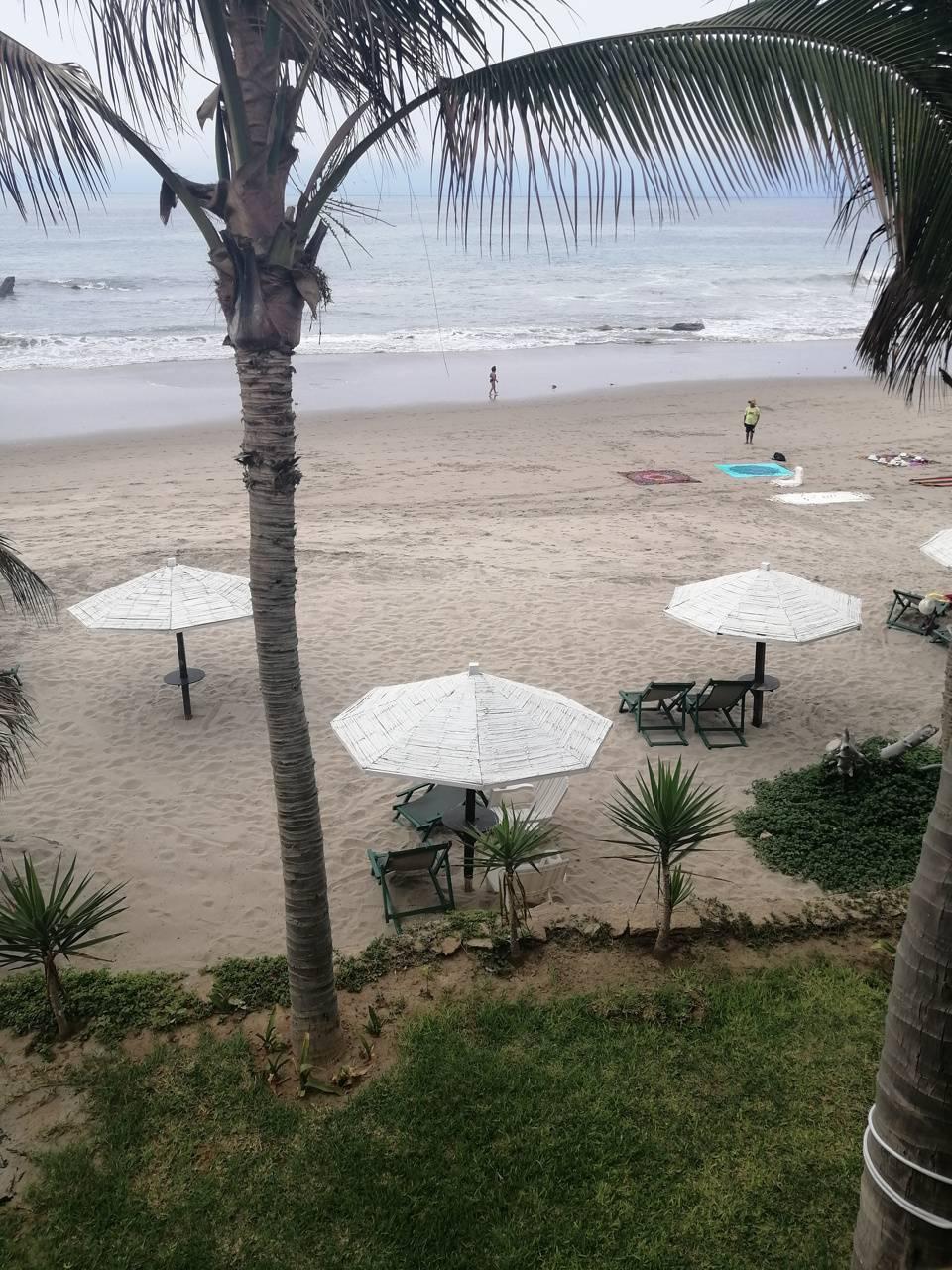 Playa lujosa