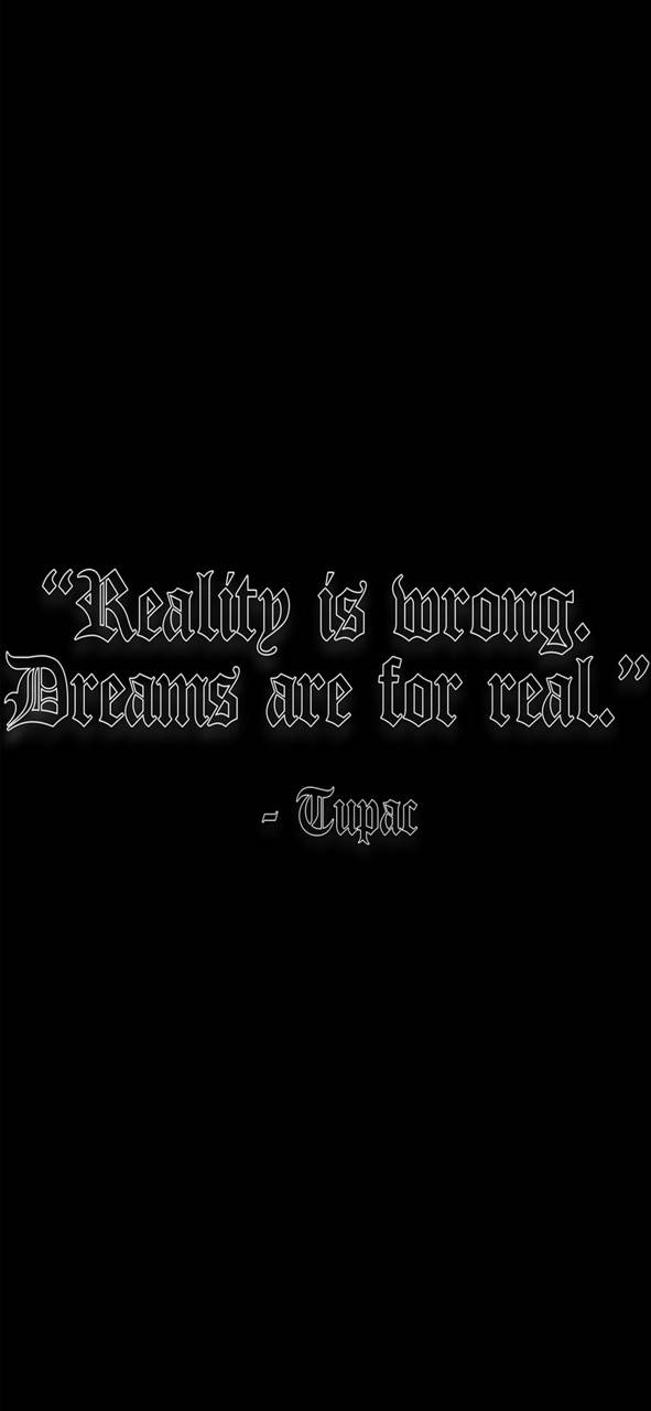 2Pac Quote Wallpaper