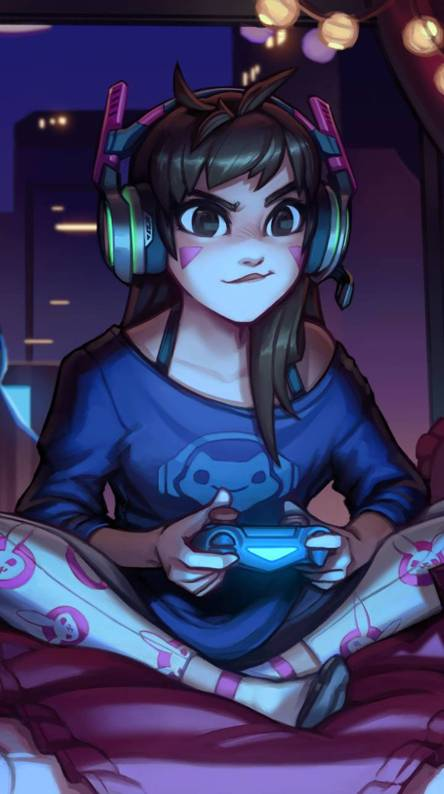 Gamer girl Wallpapers - Free by ZEDGE™