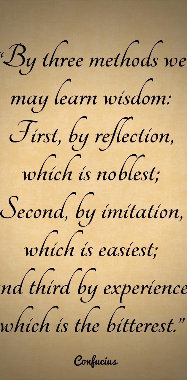 Learn Wisdom