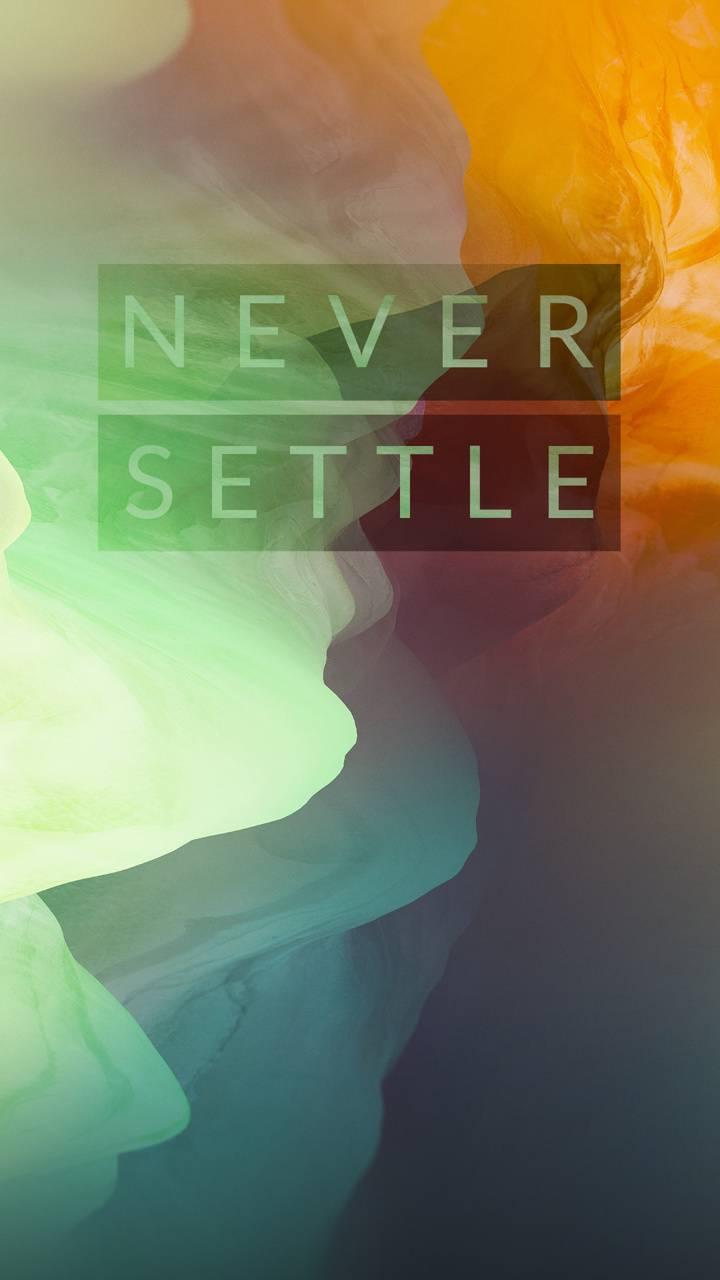 never settel
