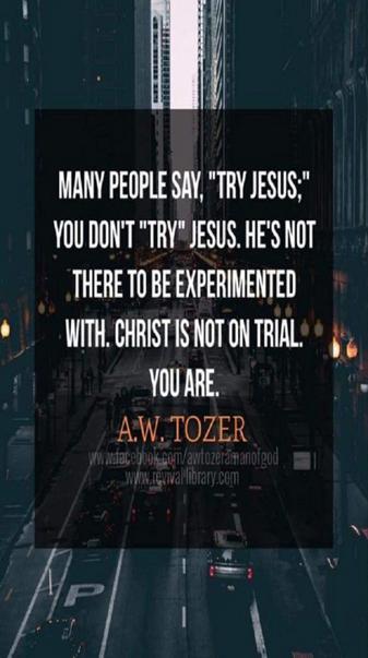 Tozer Quote