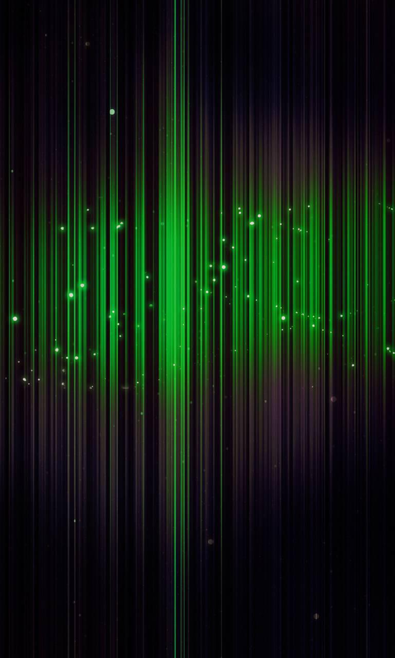Green rays
