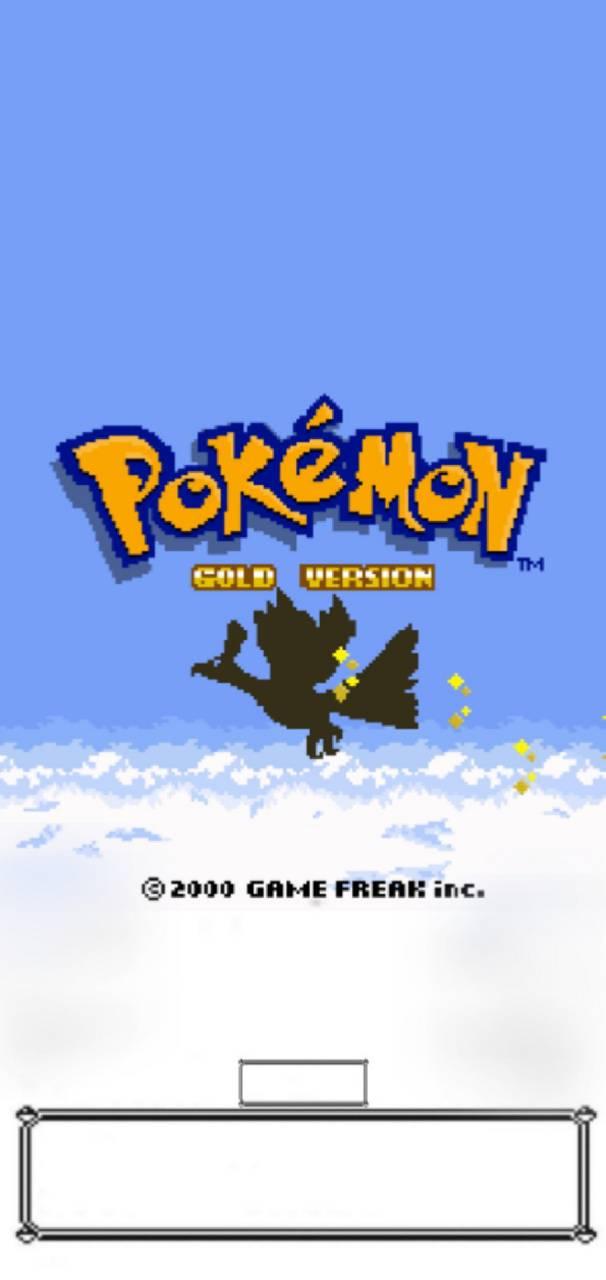 Pokemon Gold Vers
