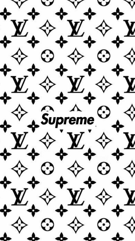 Wallpaper Supreme Lv Djiwallpaper Co