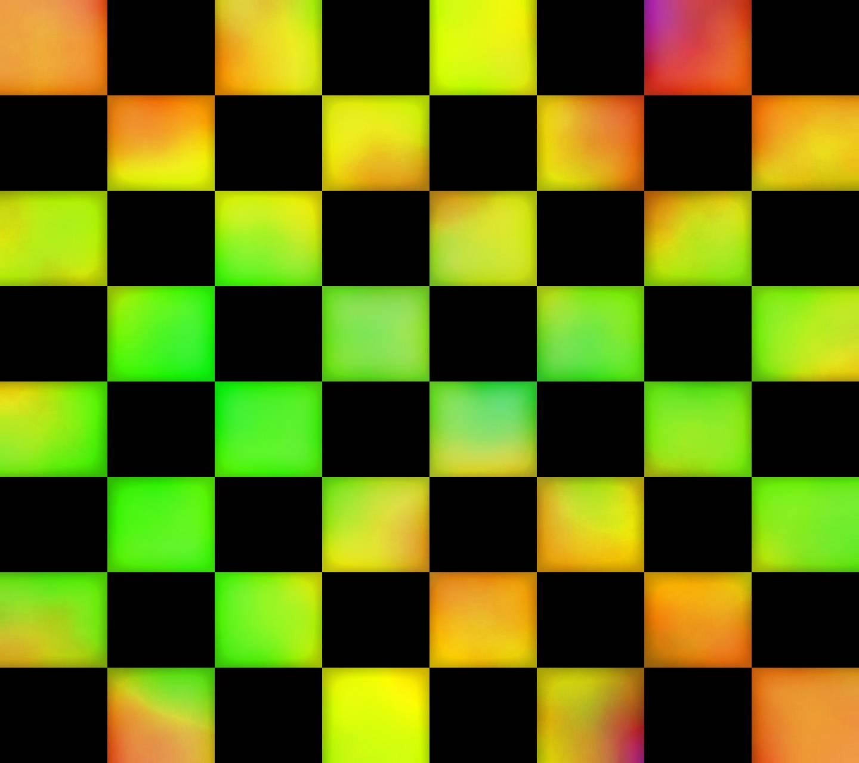 Chess Board Neon