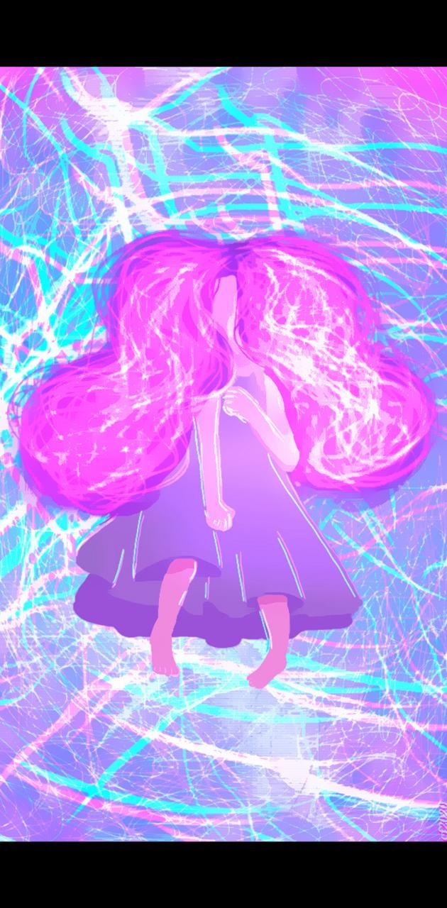 Glowing Girl