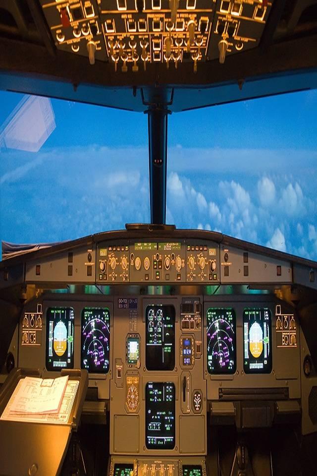 Airbus 320 Cockpit