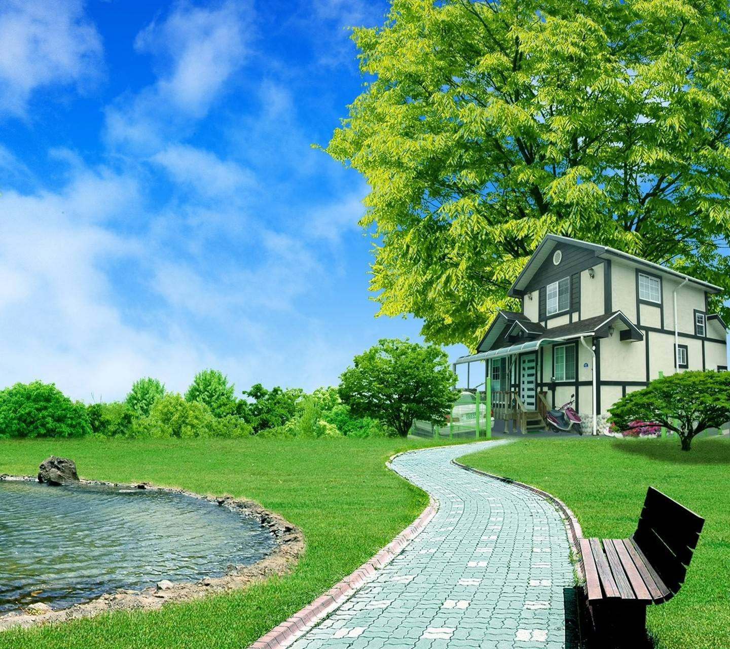 NICE HOUSE IN NATURA