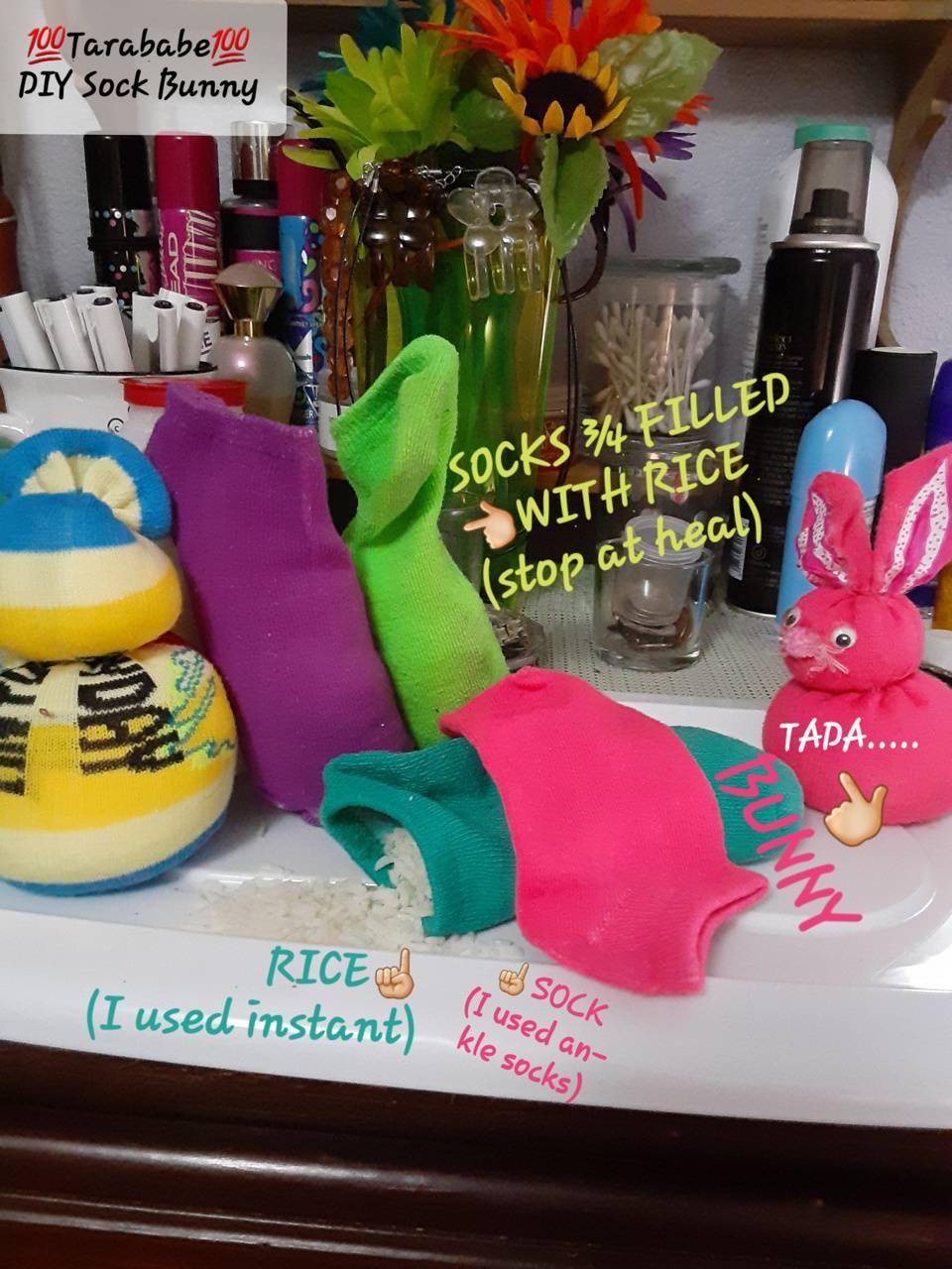 Tarababes Sock Bunny