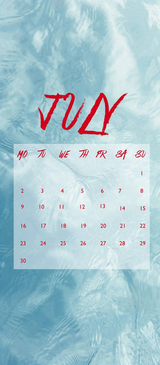 July Water
