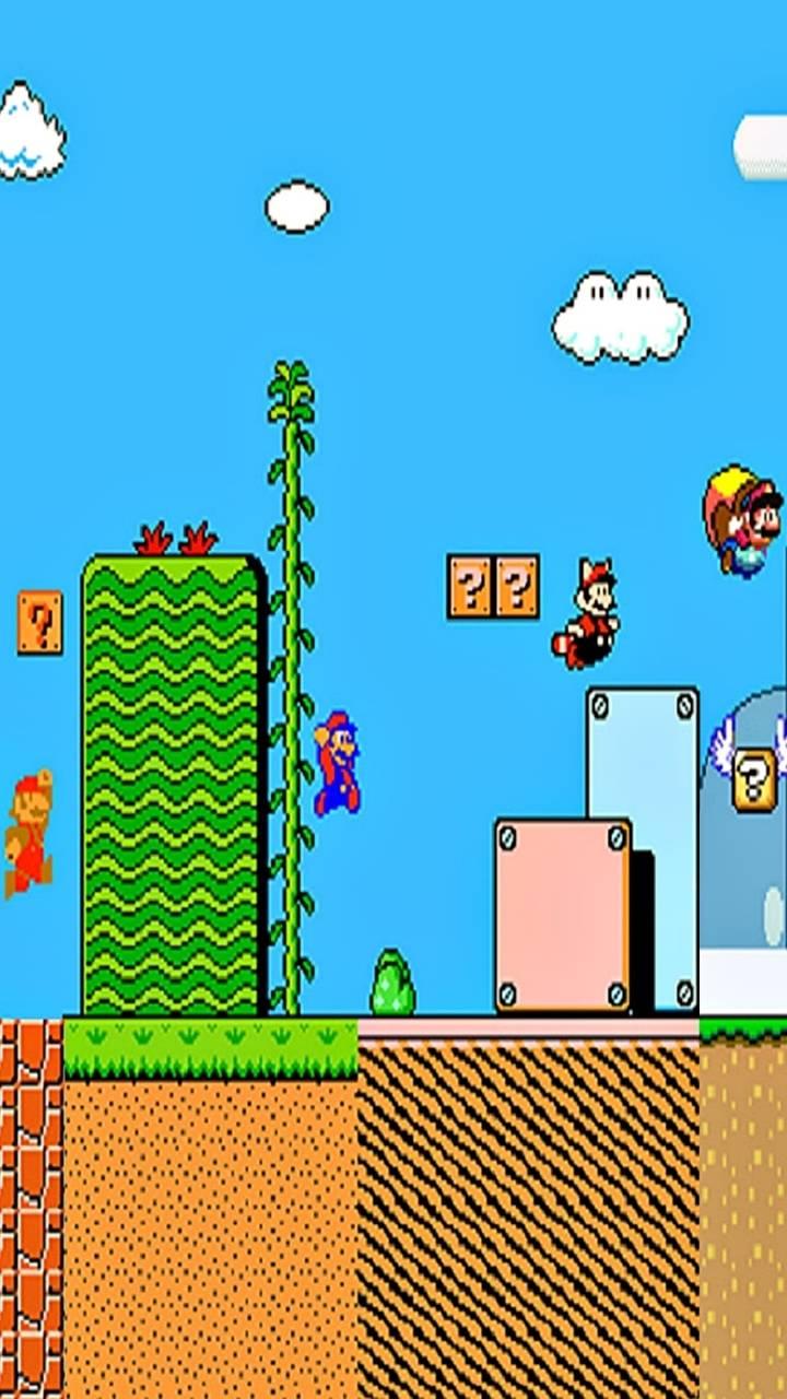 Super Mario Classic Wallpaper By Rodneyplaya20