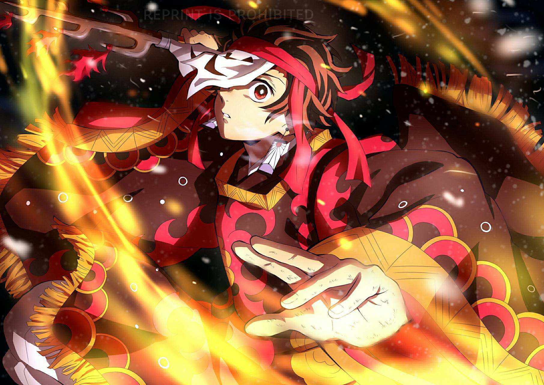 Tanjiro Fire