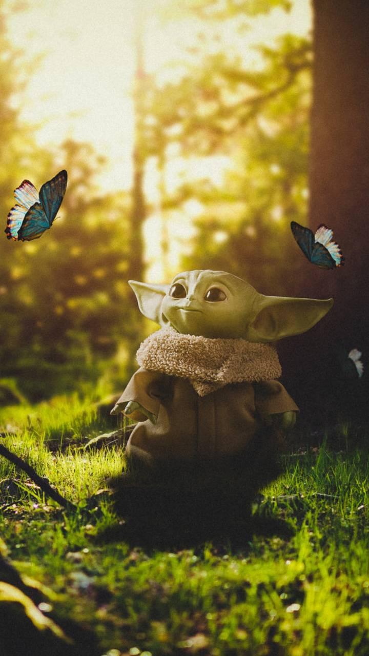 Baby Yoda wallpaper by georgekev - 06 - Free on ZEDGE™