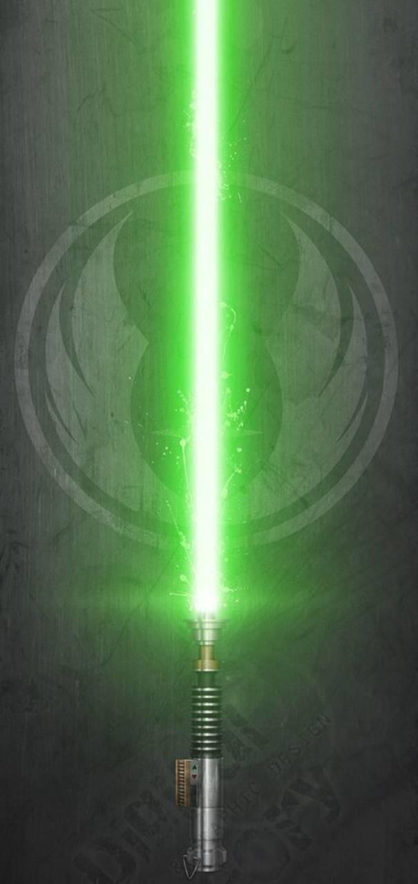 Lukes lightsaber