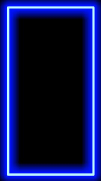 Neon Blue Frame