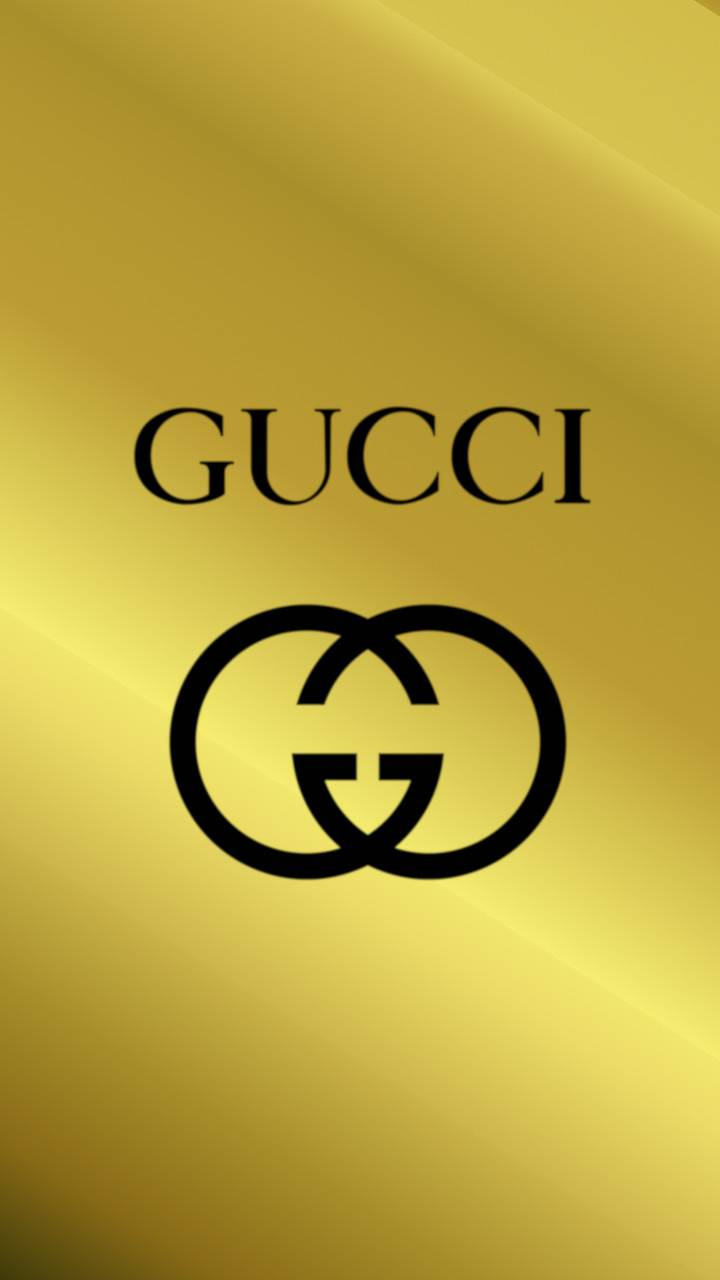 Golden Gucci Logo