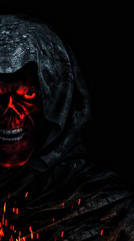 Red skull Wallpapers - Free by ZEDGE™