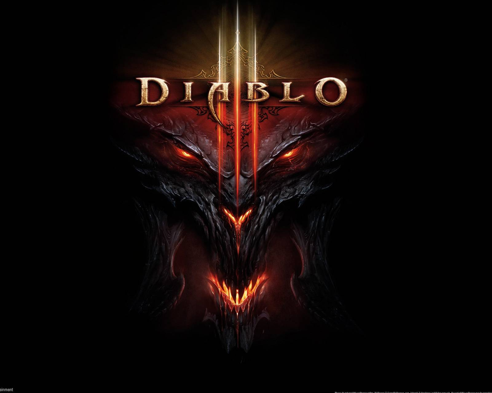 Diablo 3 Logo wallpaper by Dingbot - e0 - Free on ZEDGE™