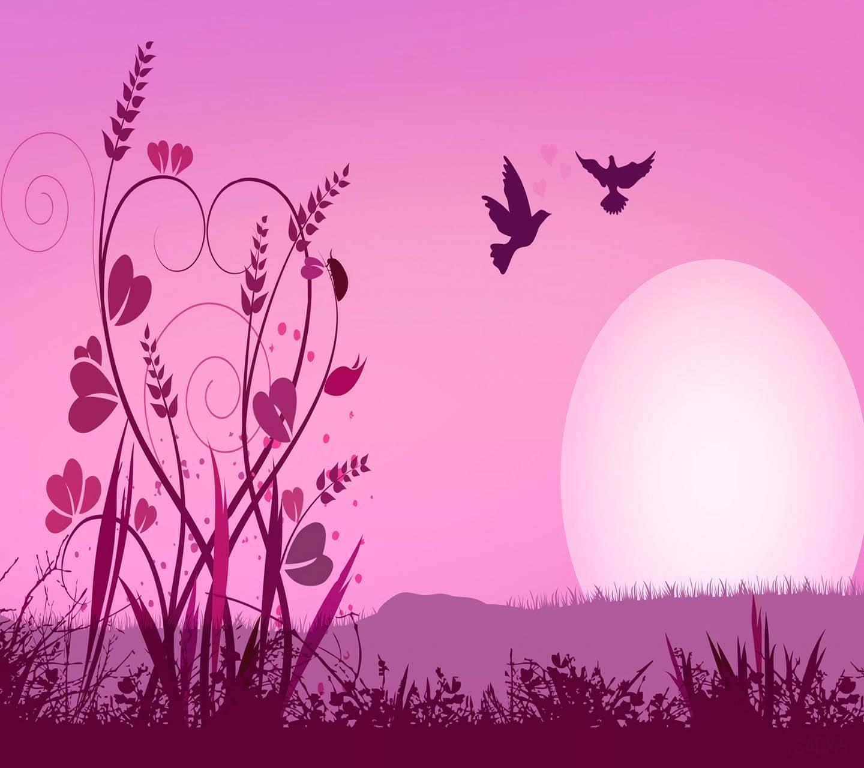 Love Birds Heart