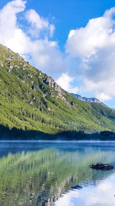 PL mountains lake