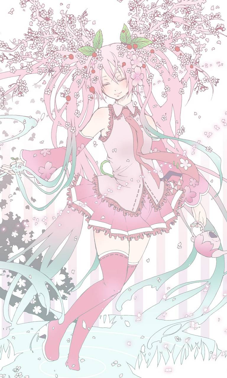 Cherry Blossom Miku