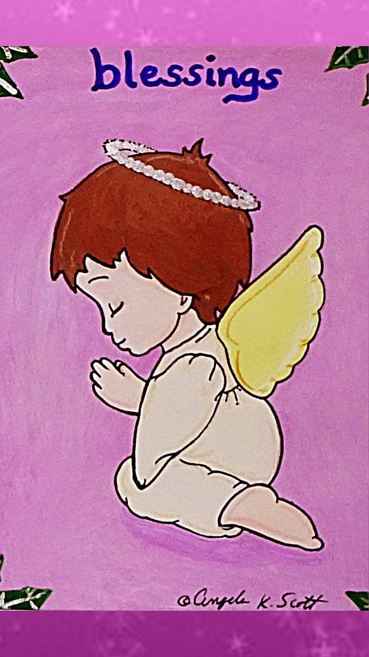 Child Angel art