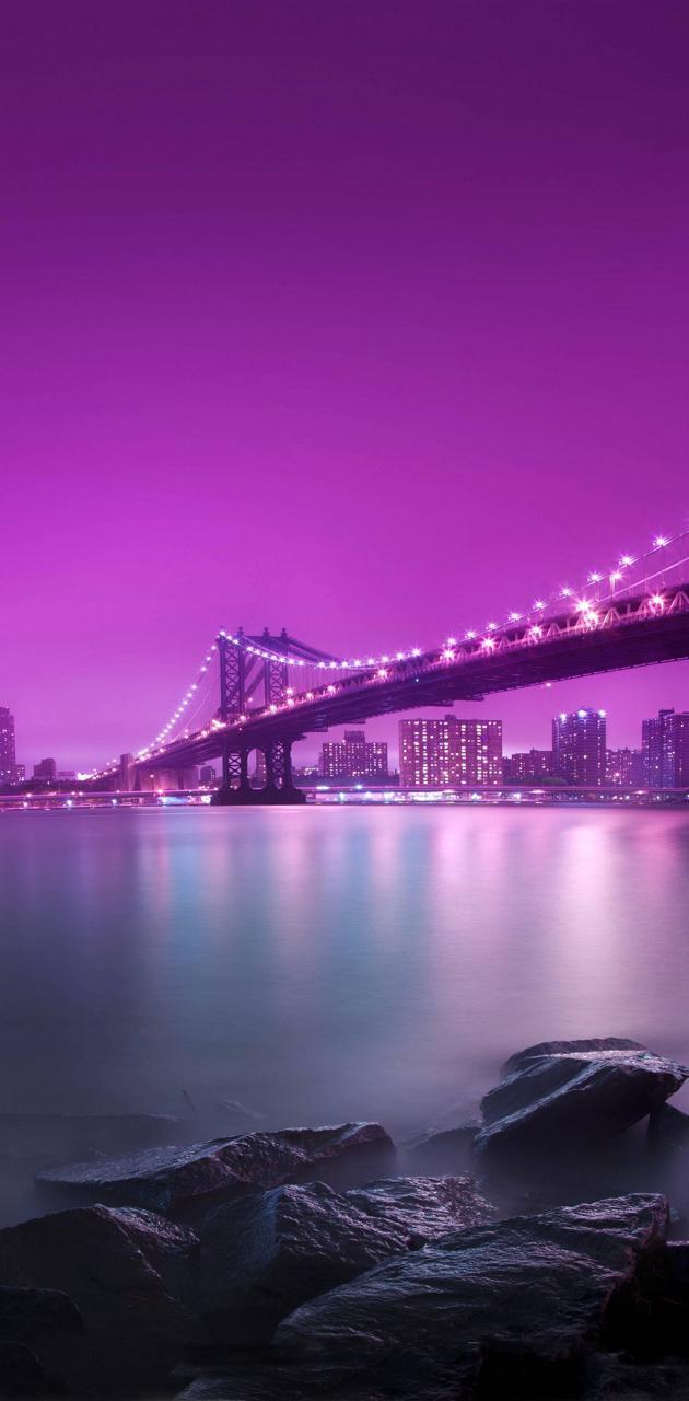 Pink Night City