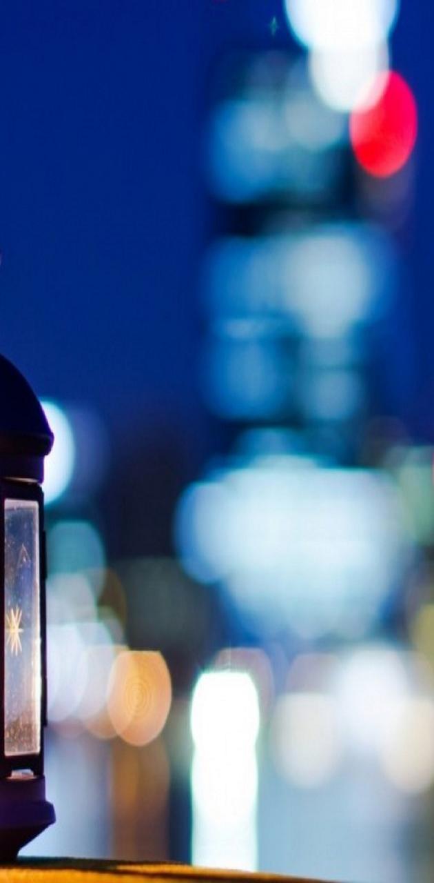 city lights lantern