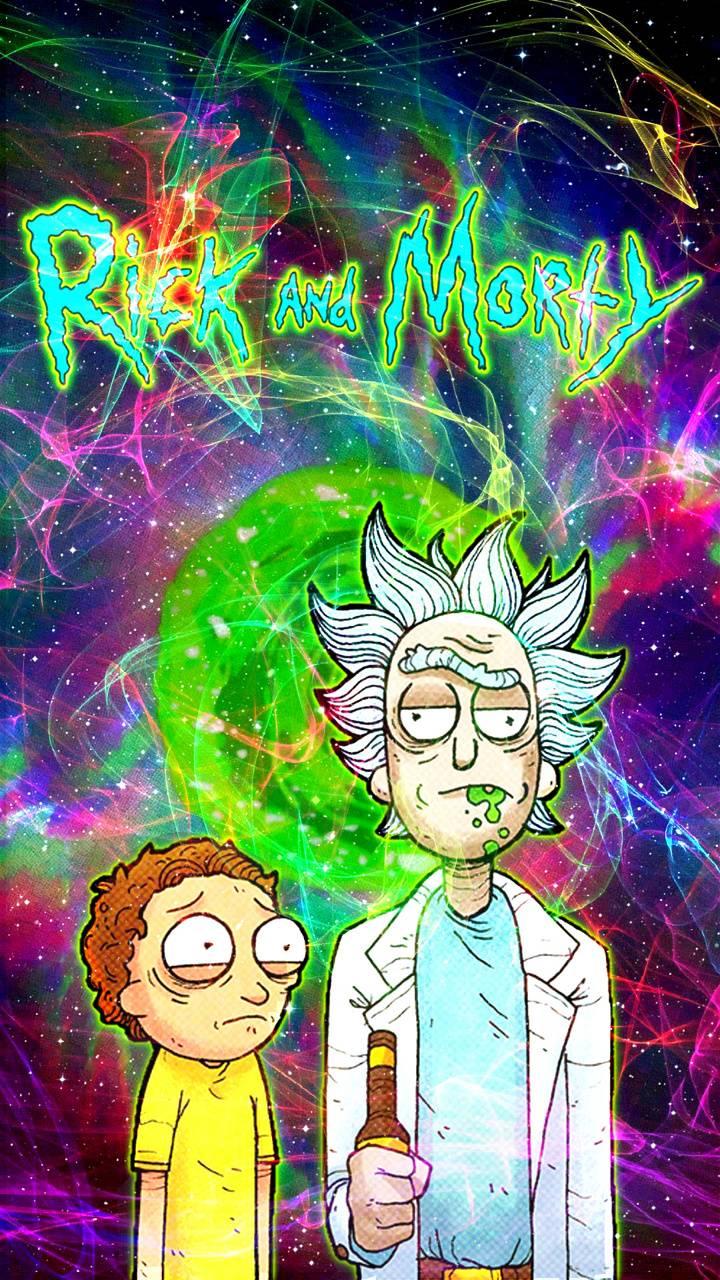 Rick Morty Nebula