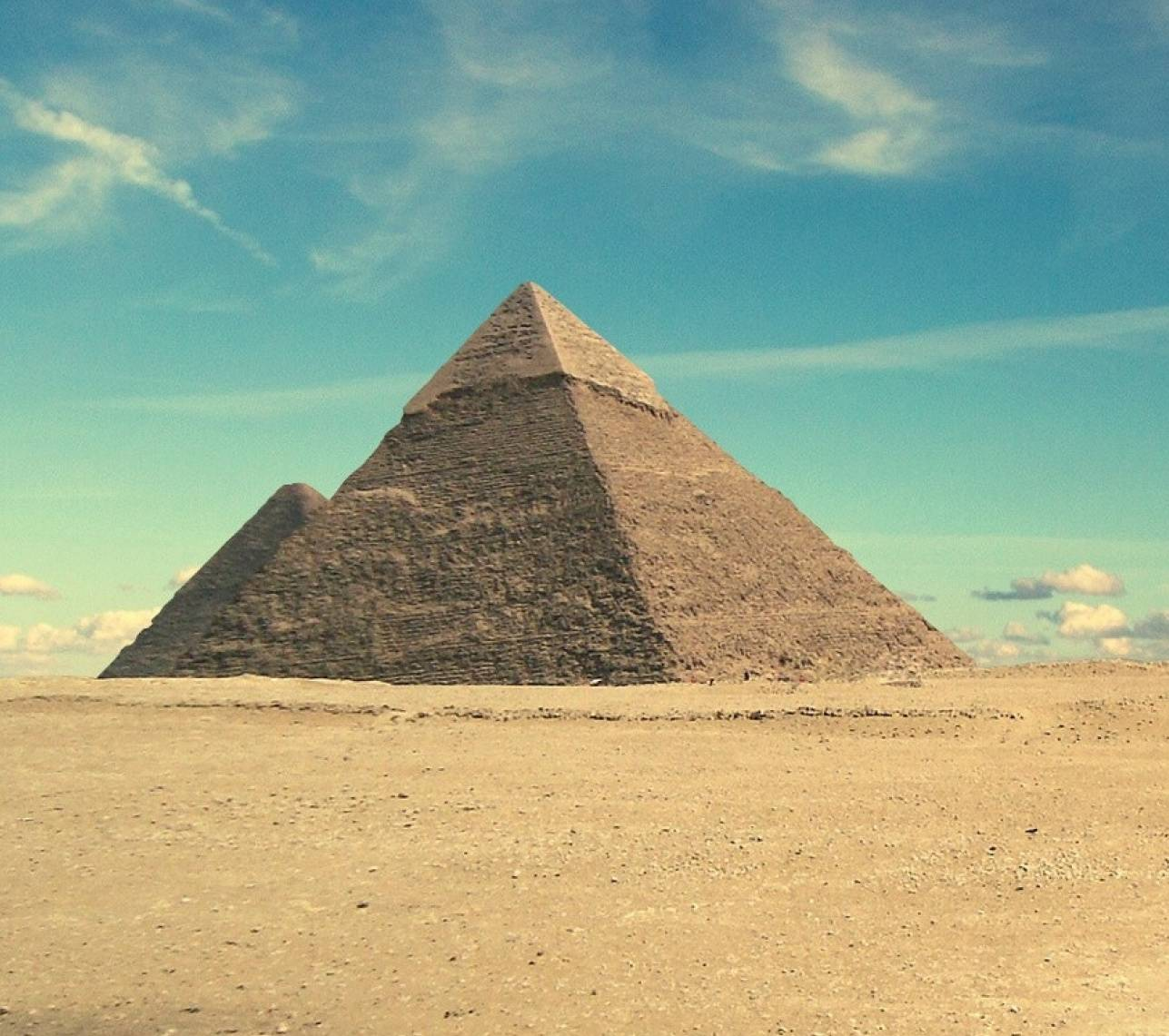 Desert - Pyramid