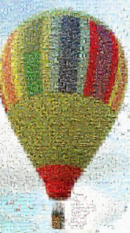 Air Balloon Mosaic