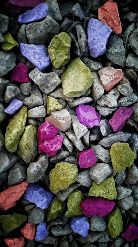 Colour stone