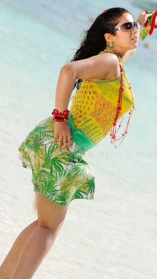 Charmi Hot Back