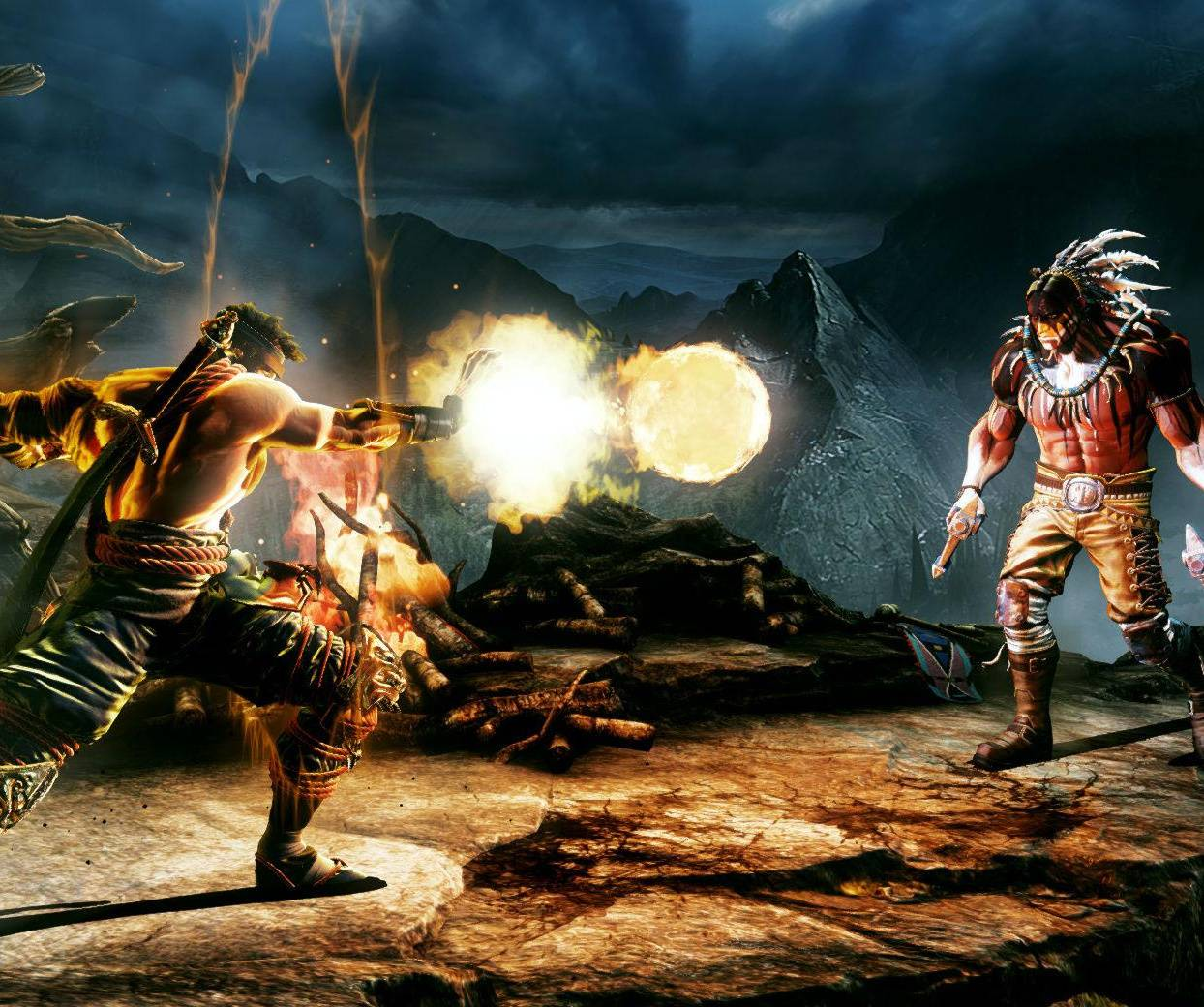 Jago vs Thunder