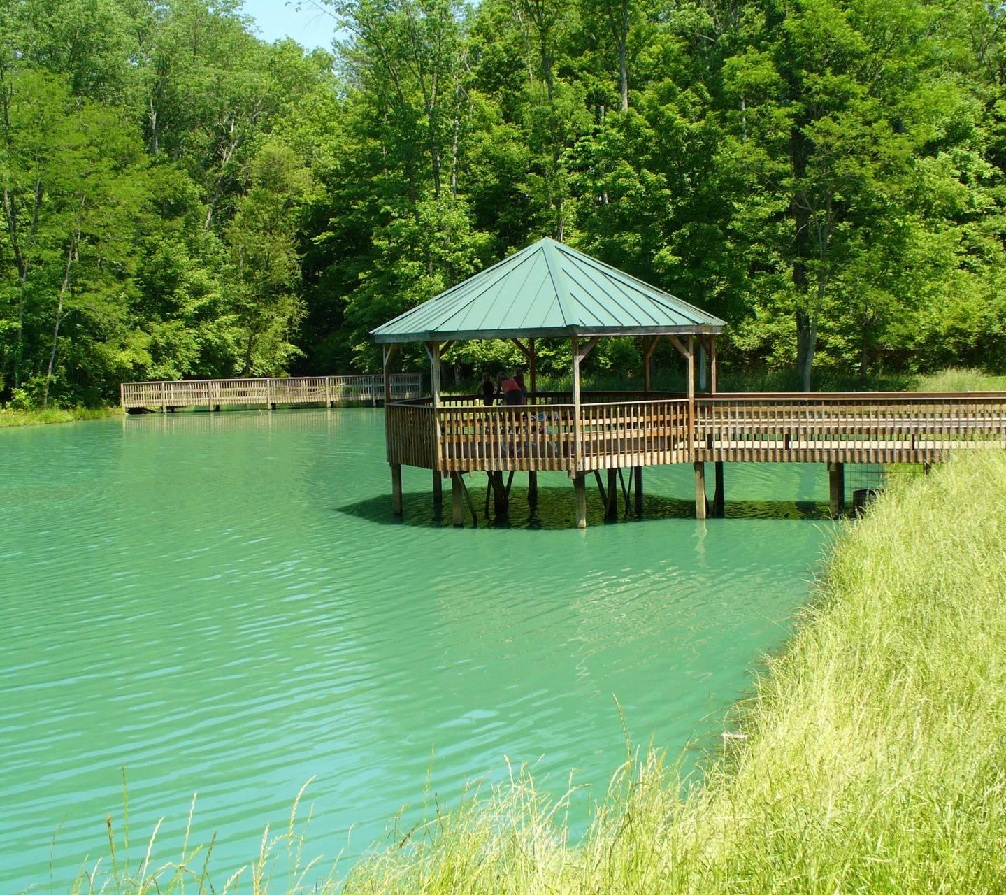 Pond Gazebo