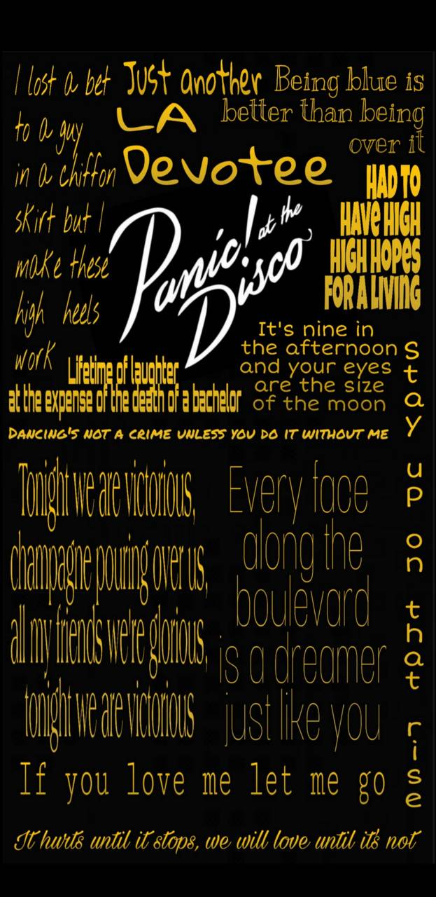 Patd Lyrics Wallpaper By Bbecs 03 07 Free On Zedge