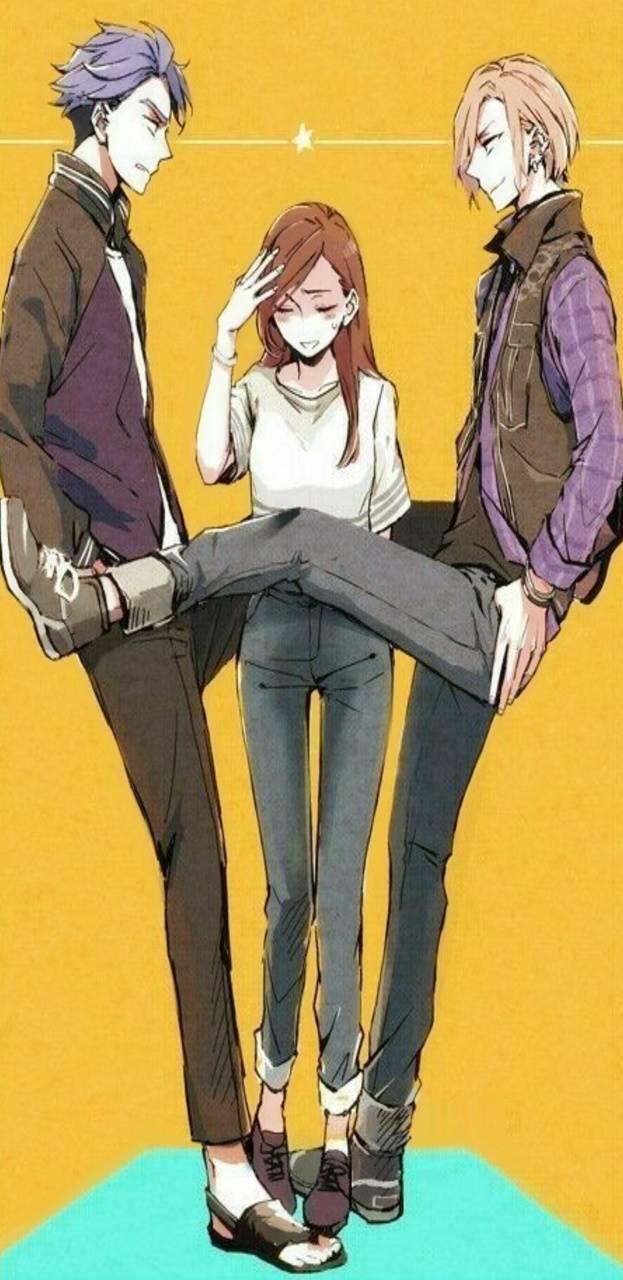 Anime love triangle
