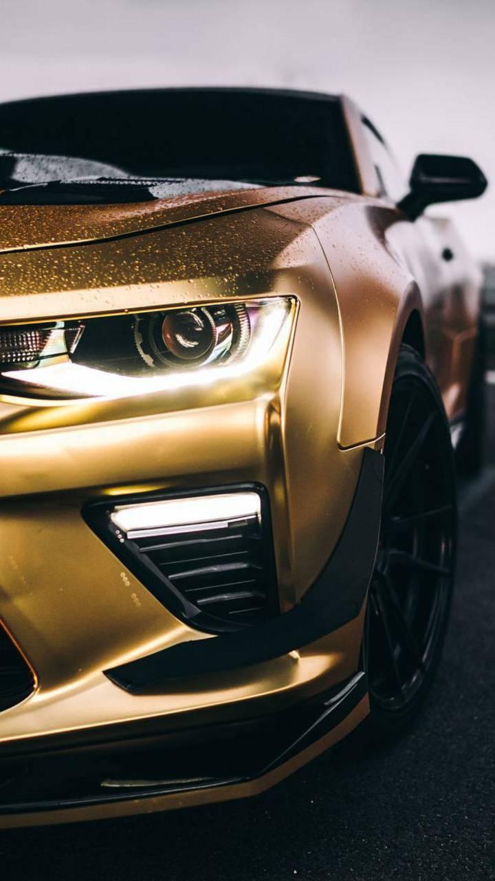 Gold Camaro