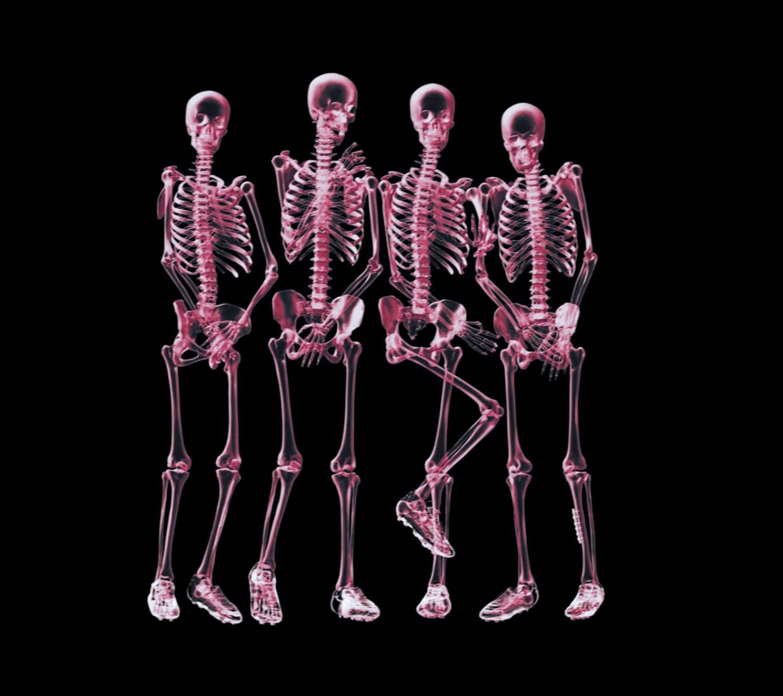 Shy Skeletons