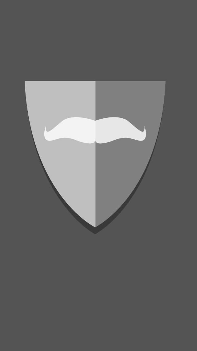 Moustache Shield