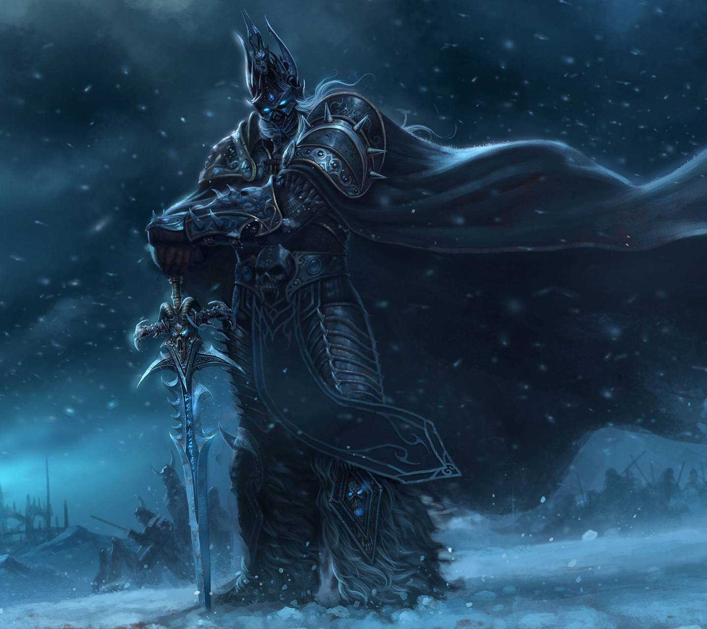 Lich King Wallpaper by diego10kn - 2e - Free on ZEDGE™