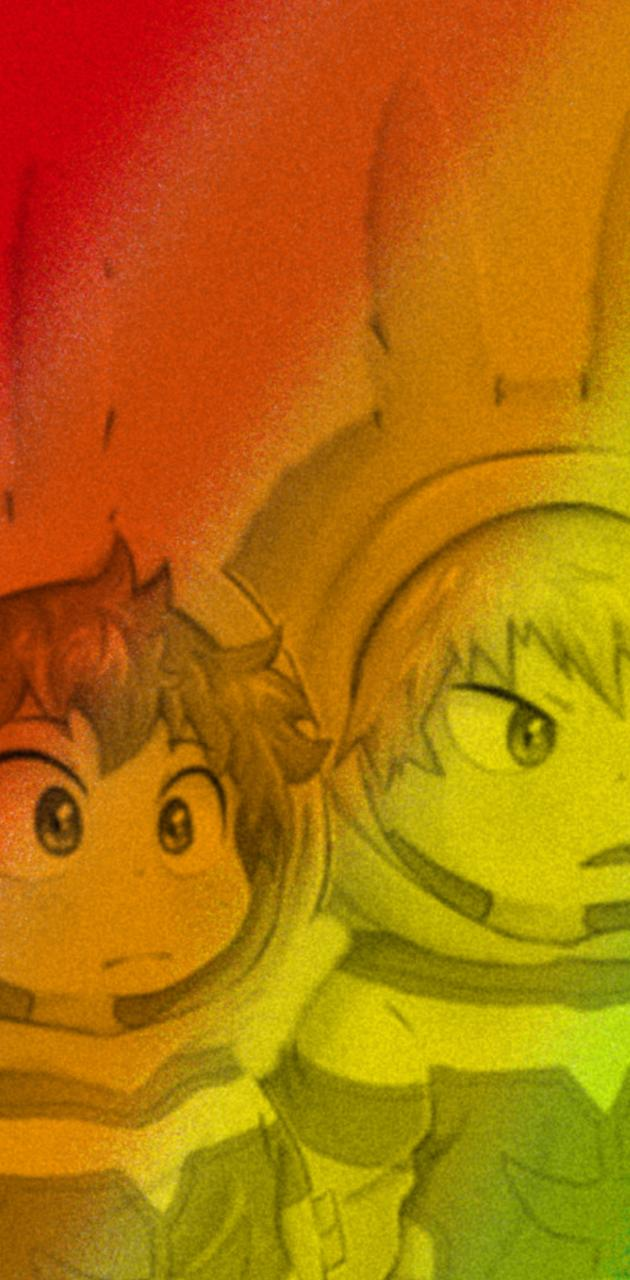 Bakugo and deku