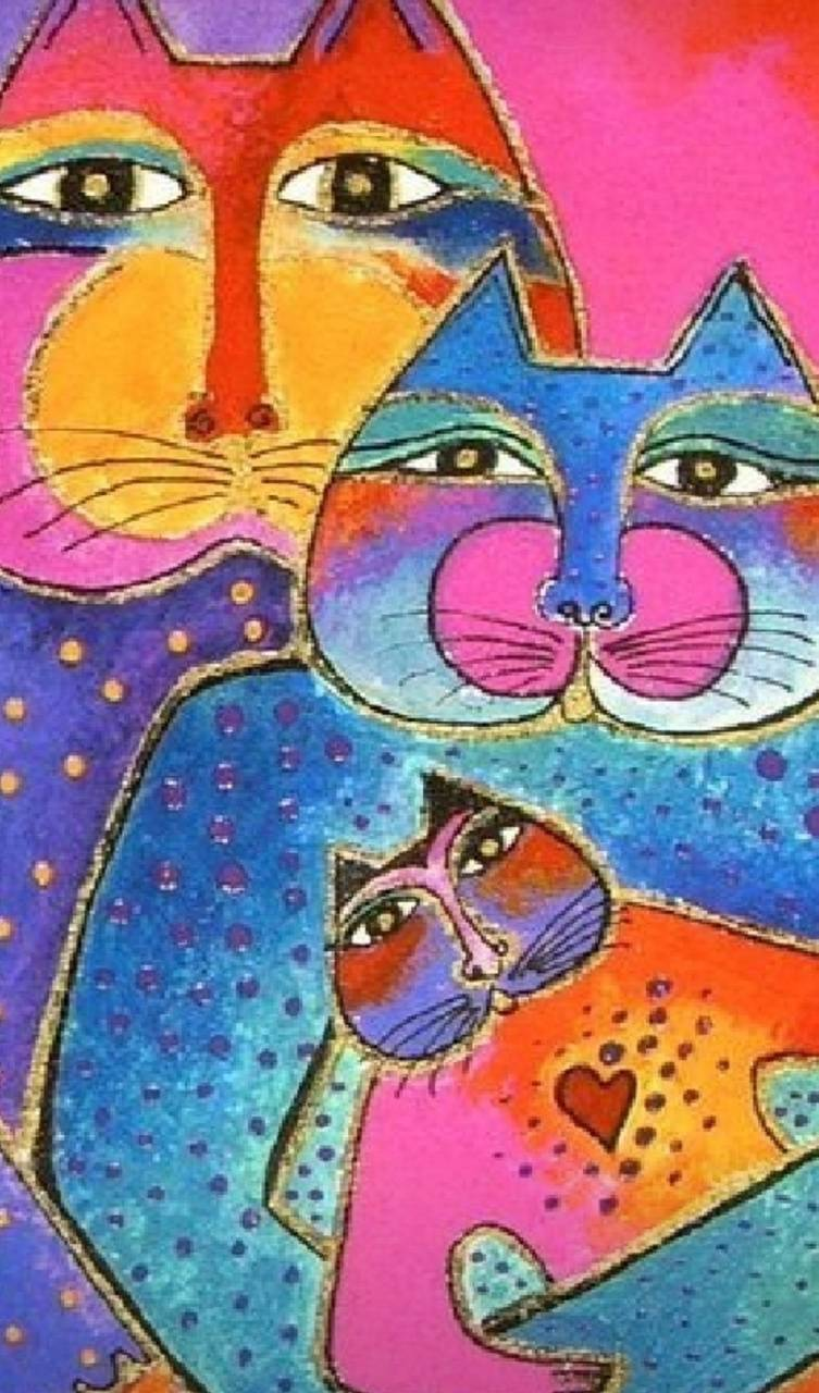 Laurel Burch Kats