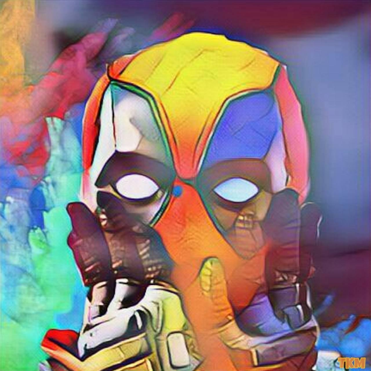 Colorful Deadpool