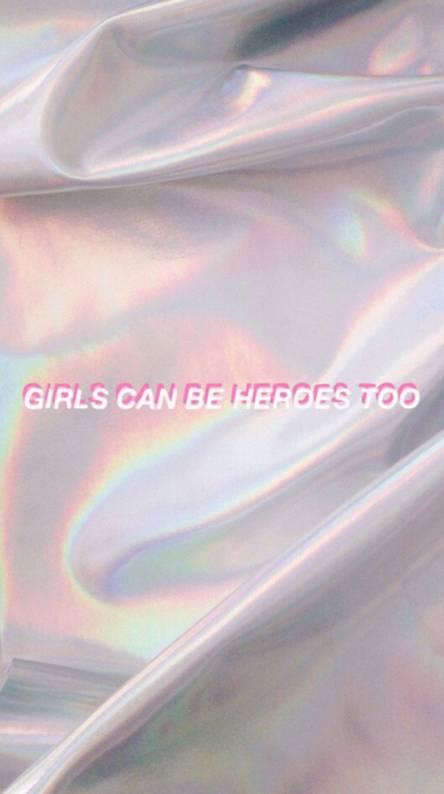Girl hero