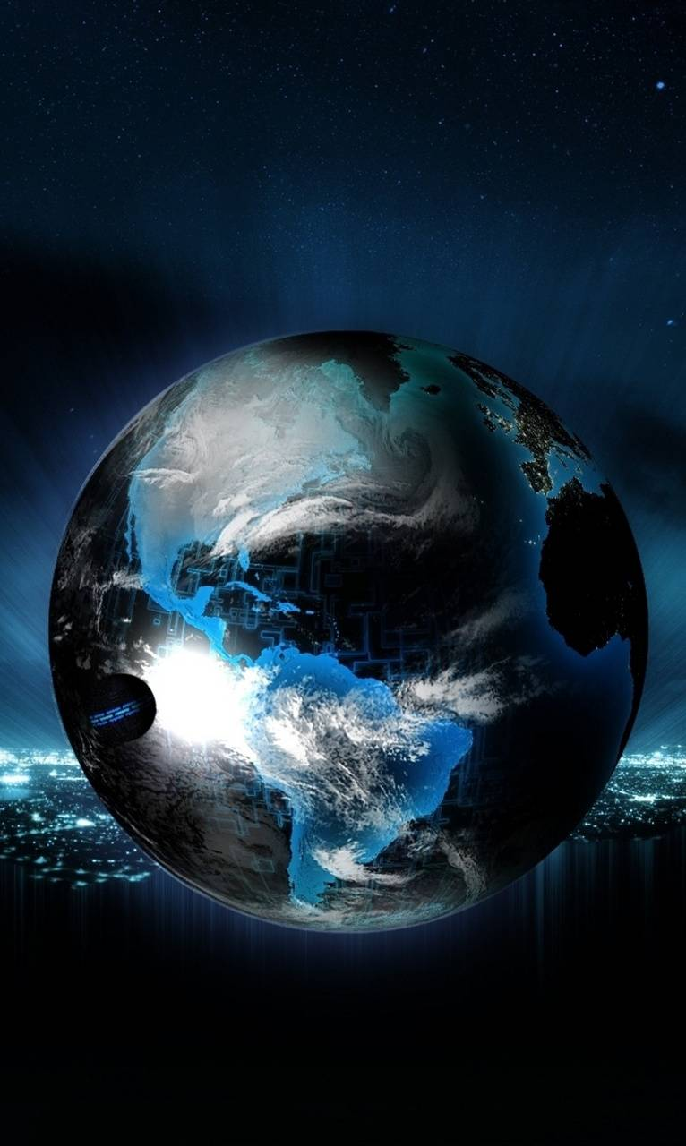 Abstract Earth Hd Wallpaper By Winbackgrounds 12 Free On