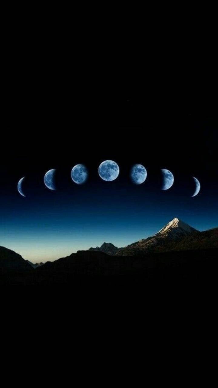 Moon Phases Wallpaper By Maussk B7 Free On Zedge