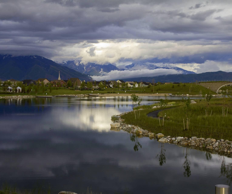 Oquirrh Lake Spring